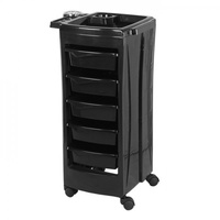 GLAMMAR Salon Trolley Stacey Black