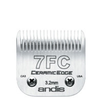 Andis CeramicEdge Detachable Blade Size 7FC, 3.2mm
