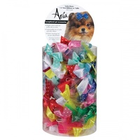 ARIA Satin Bow 5/8Inch Dot Ribbon with Tulle 100pc