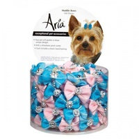 ARIA Maddie Dog Bows Canister 100 pc