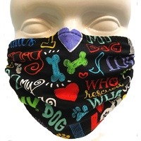 Breathe Healthy Mask - I Love My Dog