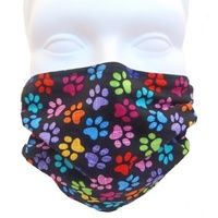 Breathe Healthy Mask - Colourful Paws
