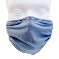 BREATHE HEALTHY Mask - Honeycomb Steel Blue
