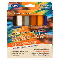 Davis Crème Chalk Pens - Essential Colour Pack of 6