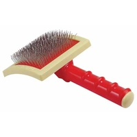 OSCAR FRANK Universal Slicker Brush Original Curved (Grande)
