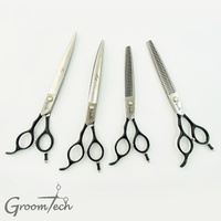 "Groomtech Mystic Shear 8"" Set of 4 - Left Handed"