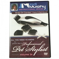 JODI MURPHY DVD Volume 31: Snap-On Combs: Theory & Techniques