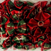 OLLIE TILLY Christmas Dog Bows 50pcs