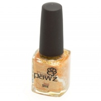 PAWZ Dog Nail Polish Gold (Metallic/Shimmer) 9ml
