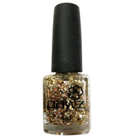 Pawz Dog Nail Polish Glitter Gold 9ml