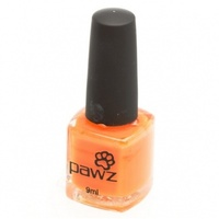 Pawz Dog Nail Polish Orange 9ml