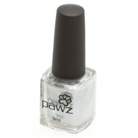 Pawz Dog Nail Polish Silver (Metallic/Shimmer) 9ml