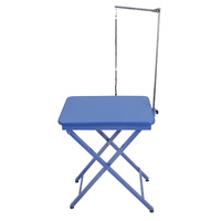 Shernbao Portable X-Shape Competition Table (Blue)