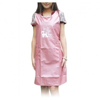 Grooming Apron No Sleeve (Pink), XLarge