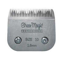 Shear Magic Steel Detachable Blade Size 10, 1.6mm