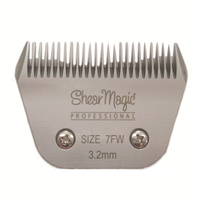 SHEAR MAGIC Wide Blade Size 7F, 3.2mm