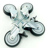 Set of 4 Wheels for Table and Bath