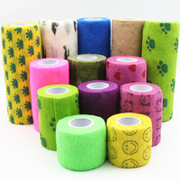 1 Roll of Elastic Bandage 4.5m Mixed Colour 7.5cm