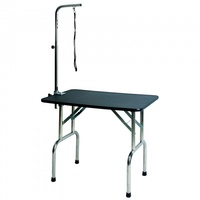 Aeolus Deluxe Grooming Table (Black) - Medium