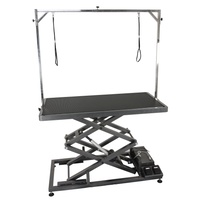 Aeolus Accordion Electric Lifting Table [Black]