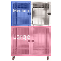 AEOLUS KA509T Stainless Steel Modular Cage (2019 Model) - Medium