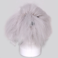 Kissgrooming Head Hair for Teddy Bear Model Dog [Grey]