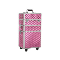 FORTRESS Tool Case Trolley XL - Pink