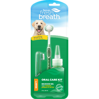 Tropiclean Fresh Breath Oral Kit for Medium to Large Dogs