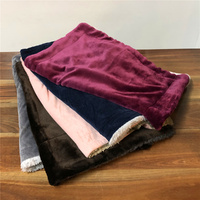 Double Sided Flannel Blanket Small 50x70cm