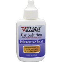 ZYMOX Enzymatic Ear Solution with HC 0.5% 1.25 oz