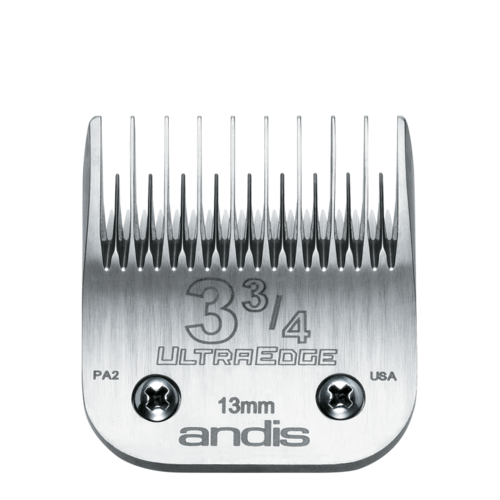 Andis UltraEdge Detachable Blade Size 3 3/4 Skip Tooth, 13mm
