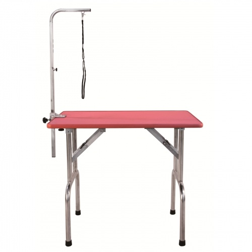 AEOLUS Deluxe Grooming Table (Pink) - Large