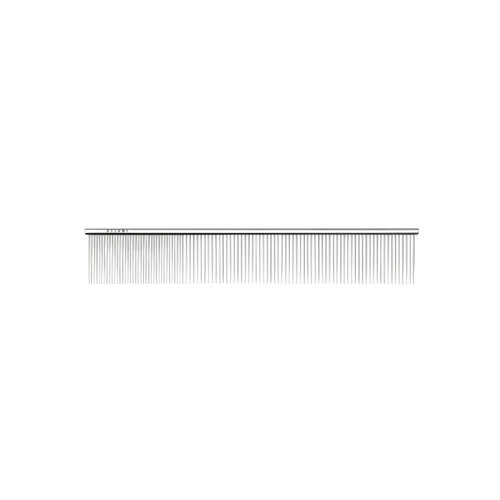 "Utsumi 9"" Quarter Stainless Comb Long Teeth"