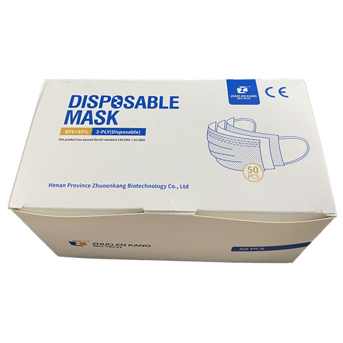 Zhuo En Kang Disposable Anti-Virus Protective Face Mask [pack of 10]